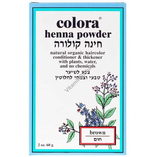 Henna Powder Brown 60g (2 oz.) - Colora