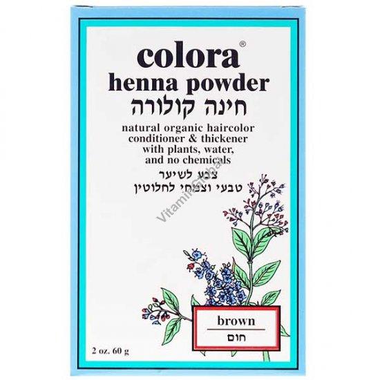Henna Powder Brown 60g (2 oz.) - Colora