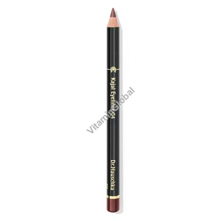 Kajal Eyeliner Pencil 04 Soft Brown - Dr. Hauschka