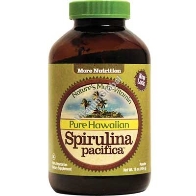 Pure Hawaiian Spirulina Powder 454g (16 oz.) - Nutrex