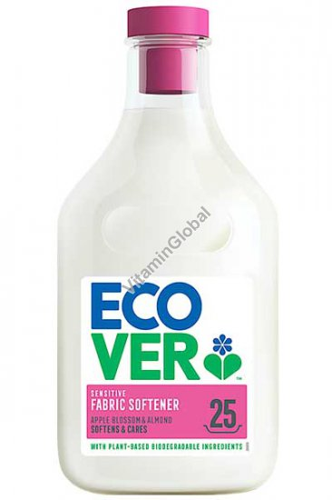 Ecological Fabric Softener Apple Blossom & Almond 750ml - Ecover
