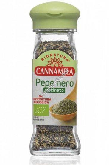 Organic Ground Black Pepper 50g - Cannamela