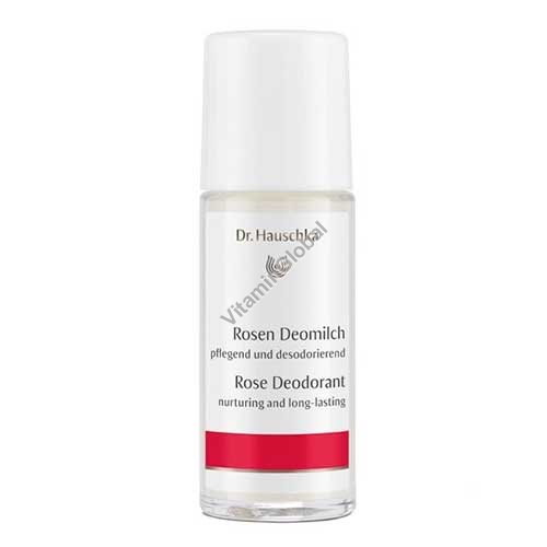 Deodorant Roll-on Rose 50 ml - Dr. Hauschka