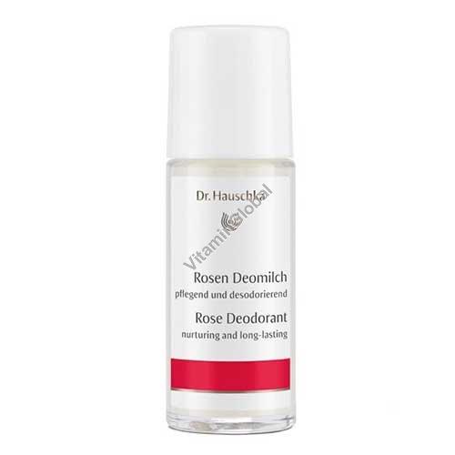 Deodorant Roll-on Rose 50 ml - Dr. Hauschka