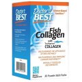 Fish Collagen With TruMarine Collagen, 30 Powder Stick Packs, 150g - Doctor's Best