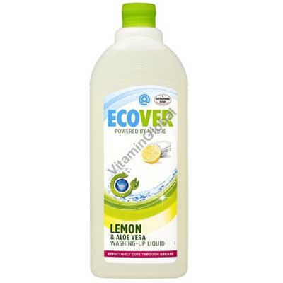 Washing-Up Liquid with Aloe Vera & Lemon 1L - Ecover