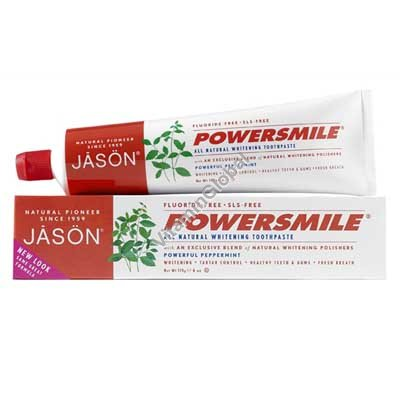 PowerSmile - All Natural Whitening Toothpaste 170g - Jason
