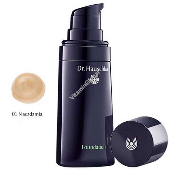Foundation 01 - Macadamia 30ml (1.00 fl oz) - Dr. Hauschka