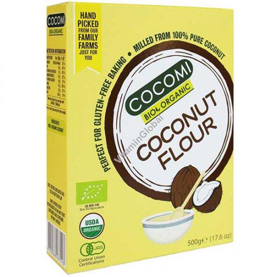 Organic Gluten-Free Pure Coconut Flour 500g (17.6 oz)- Cocomi