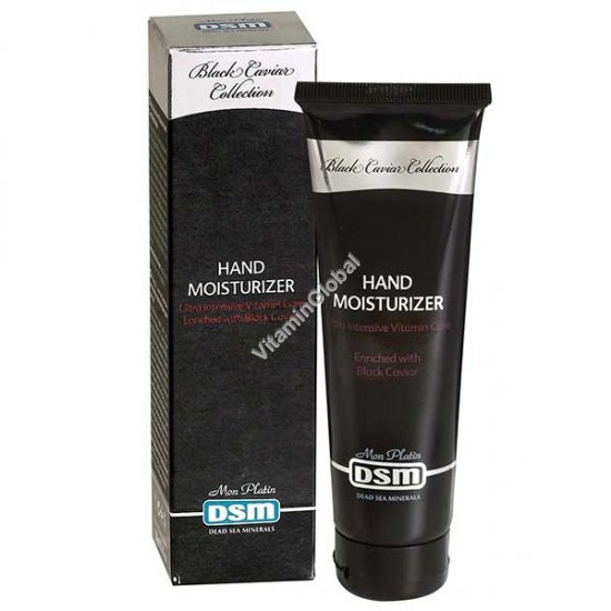 Ultra Intensive Hand Moisturize enriched with black caviar 100ml (3.4 fl. oz.) - Mon Platin