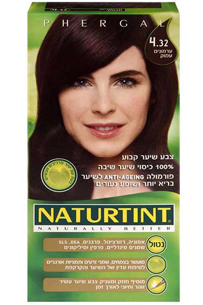 Permanent Hair Color 4.32 Intense Chestnut - Naturtint